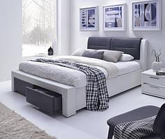 Кровать Cassandra S 160( с выдвежными ящиками)(Halmar)