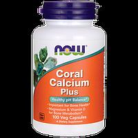 Кальций натуральный коралловый, CORAL CALCIUM PLUS 100 капсул из США, купить, цена, отзывы