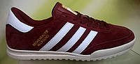 Мужские кроссовки Adidas Beckenbauer Allround бордовые, размеры с 41 по 45