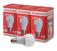 Светодиодные лампы Economka LED 10W СУПЕРПАК 3шт 4200К