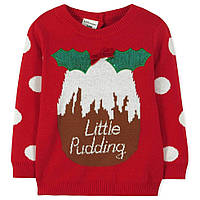 Весенне-осенний яркий свитер для девочки от 1 года до 8 лет (Разм. 80-130) ТМ Little Maven
