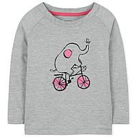 Весенне-осенняя модная кофта для девочки от 18 месяцев до 6 лет (Разм. 86-116) ТМ Little Maven