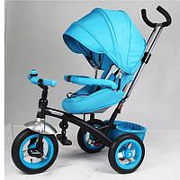 Велосипед трёхколёсный M 3195-4A голубой