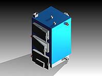Твердотопливный котел длительного горения Vortex S 15 кВт, фото 1