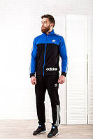 Спортивный костюм 231024 (Электрик/Черный)