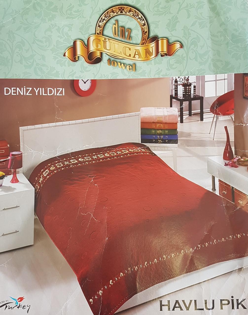 Махровая простынь плотная (Турция)