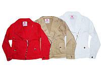 Куртка котоновая для девочек, размеры 6-16 лет, Seagull, арт. CSQ-88689