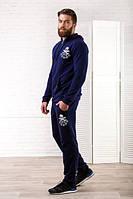 Спортивный костюм 231018 (Темно-синий)
