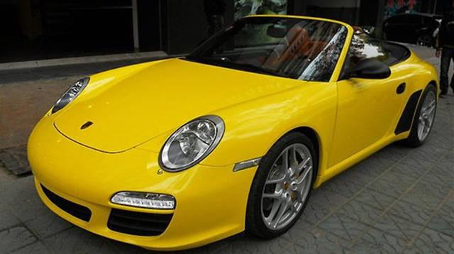 Желтая глянцевая пленка Oracal 970 RA 201, фото 2