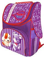 Каркасный рюкзак с ортопедической спинкой Fancy Toys 1-2 класс