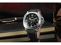 Роскошные мужские удобные наручные часы Forsining Luminor VIP. Отличное качество. Доступная цена.  Код: КГ954