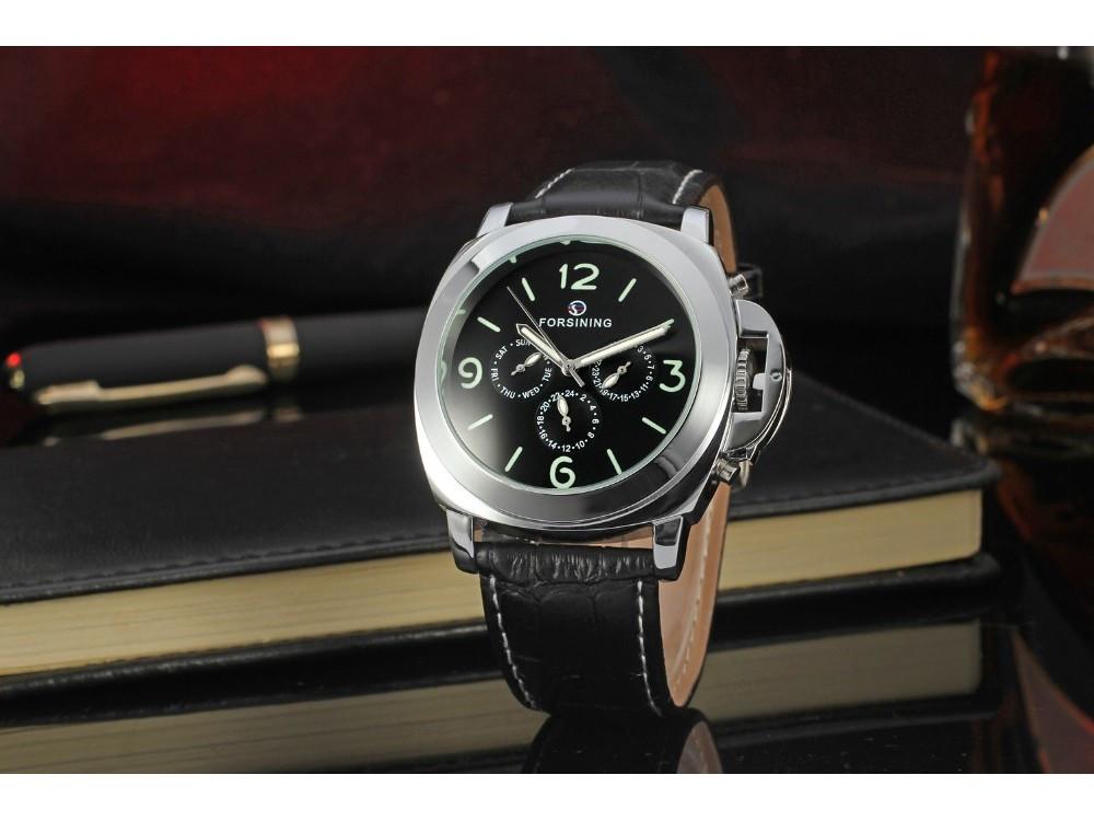 Роскошные мужские удобные наручные часы Forsining Luminor VIP. Отличное качество. Доступная цена.  Код: КГ954 - Goashop.com.ua в Киеве