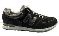 Кроссовки мужские New Balance замша NB0004