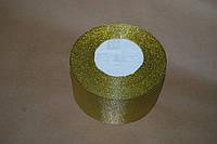 Лента парча  золото 50мм.
