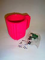 Стильная и оригинальная кружка конструктор лего Bild-On Brick Mug