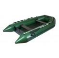 Надувная лодка Ладья лт-290м трехместная моторная со сланевым настилом