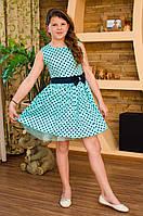 """Платье для девочки подростка """"Горох"""""""