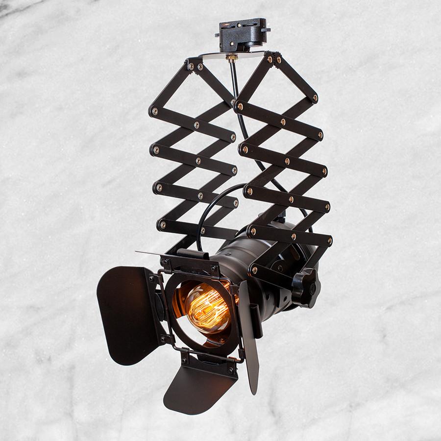 Прожектор на треке (52-14 черный)