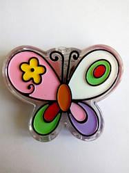 Блеск для губ детский Бабочка FFleur LG 17. 2,5 гр.