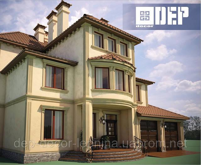 Фасадный и интерьерный декор