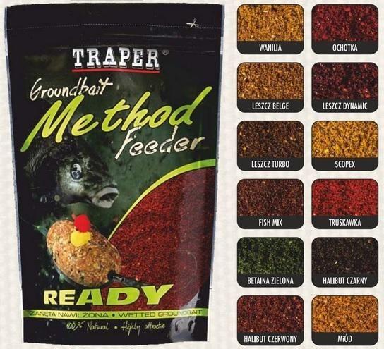 Прикормка Traper Method Feeder 750 г