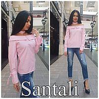 Женская блузка рубашка в полоску 3351