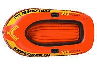 Детская надувная лодка Explorer 200 Intex 58330 (95 кг)