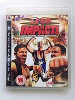 Видео игра TNA impact! (PS3)