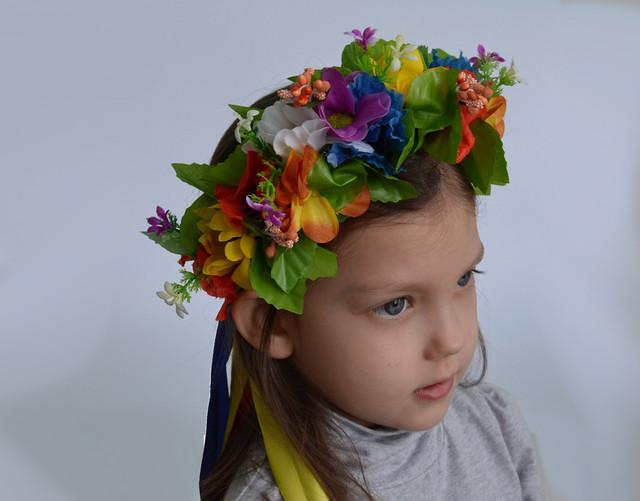 украинский венок детский
