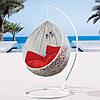 Крісло-гойдалка «Gardi», білі