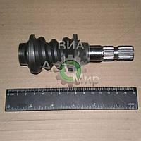 Червяк рулевого управления ВАЗ 2101 с валом (пр-во АвтоВАЗ) 21010-340103500