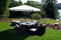 Садовый зонт (бежевый), фото 1