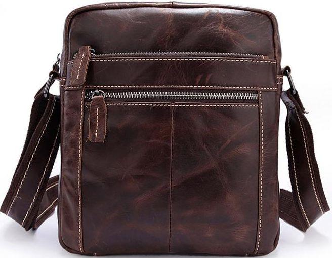 Мужская сумка-мессенджер из кожи BEXHILL BX1187C коричневый