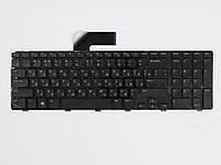 Оригинальная клавиатура для ноутбука DELL Vostro 3750, Inspiron N7110, 7720, 5720, XPS L702X, Black, RU, черная рамка