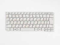 Оригинальная клавиатура для ноутбука SAMSUNG N128, N143, N145, N148, N150, NB20, NB30, white, RU