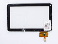"Тачскрин (сенсорное стекло) для планшета 10.1"" DPT 300-N3765A-D00, 257*159, 12pin, black"