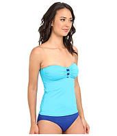 Топ для плавания LAUREN by Ralph Lauren, Turquoise/Cobalt, фото 1