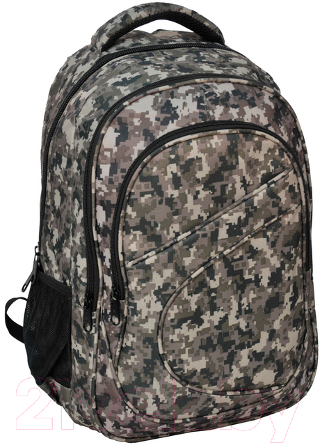 Стильный молодежный рюкзак PASO 21L 15-8115A серый