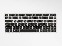 Оригинальная клавиатура для ноутбука LENOVO G40-30, G40-45, G40-70, Z40-70, Z40-75, Flex 2-14, Black, RU, с подсветкой