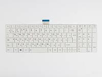 Оригинальная клавиатура для ноутбука TOSHIBA Satellite L850, L855, L870, P870, C850, C855, C870, White, RU