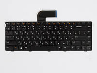 Оригинальная клавиатура для ноутбука DELL Inspiron N5050, M5040, Vostro 1550, 3350, 3450, 3550, 3560, V131, XPS L421X, L502X, Black, RU, с подсветкой