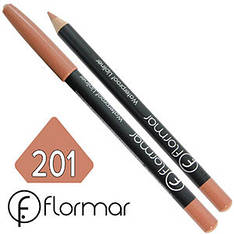FlorMar - Карандаш для губ водостойкий Тон №201 nature матовый
