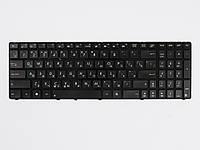 Оригинальная клавиатура для ноутбука ASUS K50, K51, K60, K61, K62, K70, K71, P50, X5D, X5E, X70, Black, RU, с рамкой