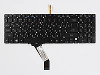 Оригинальная клавиатура для ноутбука ACER Aspire V5-531, V5-551, V5-571, V7-581, V7-582, M3-581, M5-581, Black, RU, с подсветкой