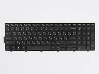 Оригинальная клавиатура для ноутбука DELL 15-5547, Black, RU, черная рамка