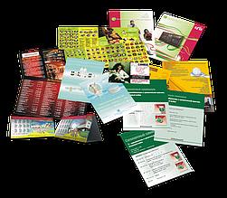 Полиграфические услуги - печать рекламной, офисной и сувенирной продукции