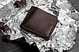 Кожаное портмоне 4.1 Шоколад, фото 6