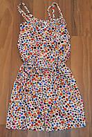 Летние комбинезоны шорты для девочек,размеры 116 см-146см.фирма S&D.Венгрия