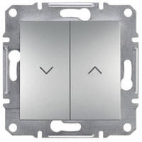 Выключатель жалюзи, алюминий - Schneider Electric Asfora