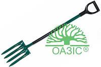 Вилы штыковальные, садовые предназначены для перекопки земли, металлические 018